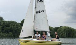 ASV Stuttgart ASVS Schnuppersegeln auf dem Max-Eyth-See mit Flying Sailor Ausbildungsjolle