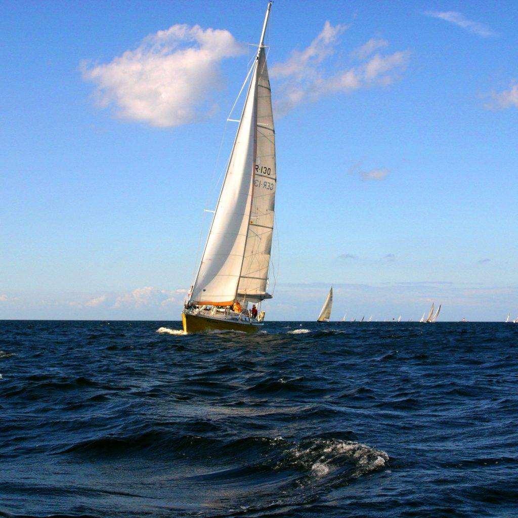ASVS Hochseeyacht Odysseus bei der Regatta der Kieler Woche