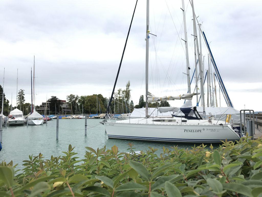 ASVS Stuttgart Bodensee Yacht Penelope im Hafen