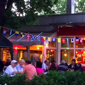 ASVS Sommerfest Clubhaus und Biergarten