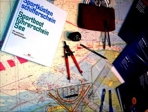 ASV Stuttgart Ausbildung Sportbootführerschein Theorie Navigationsbesteck