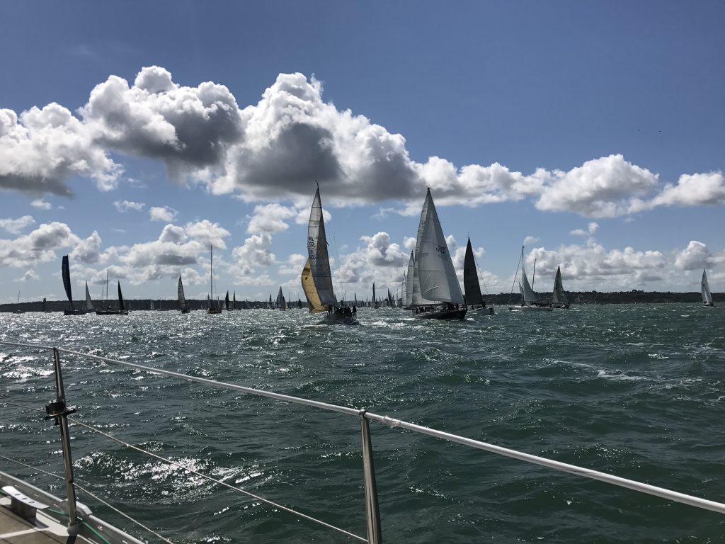 ASV Stuttgart Segelyacht Odysseus im Solent beim Fastnet Race