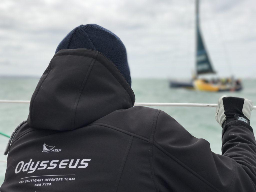 ASV Stuttgart im Startfeld des Rolex Fastnet Race mit den Profis