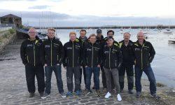 ASVS Crew Helgoland nach Edinburgh 2017 vor dem Hafen in Grifton Edinburgh