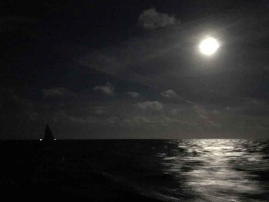 Nachtfahrt auf hoher See mit der Segelyacht Odysseus des ASV Stuttgart